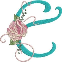 Harrington Rose E embroidery design