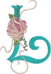 Harrington Rose L embroidery design