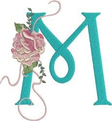 Harrington Rose M embroidery design