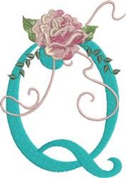 Harrington Rose Q embroidery design