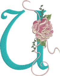 Harrington Rose U embroidery design