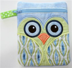ITH Owl Bag 4 embroidery design