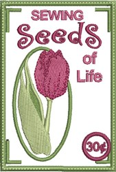 Sewing Seeds of Life embroidery design
