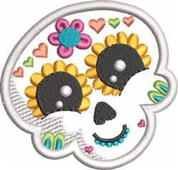 Kids Sugar Skull 1 embroidery design