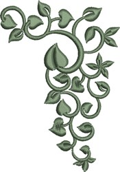 Leaf Embellishment 1 embroidery design