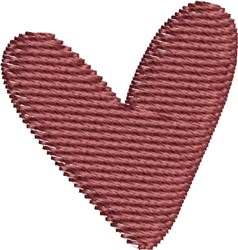 Country Heart embroidery design