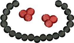 Jewelry embroidery design
