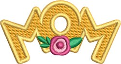 Mom Monogram 1 embroidery design