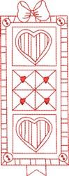 Redwork Quilt embroidery design