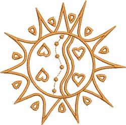 Native Designs Sun embroidery design