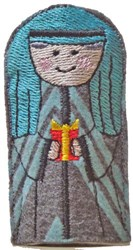 ITH Wiseman Finger Puppet embroidery design