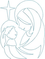 FSL and Applique Chapel embroidery design