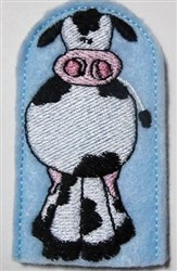 Moo Moo Here embroidery design