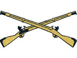 Infantry Weapons embroidery design