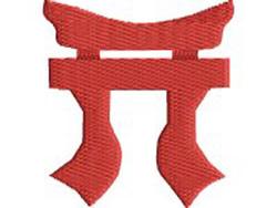 Tora embroidery design