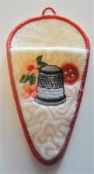 """4"""" Scissors Case embroidery design"""