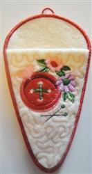 """5"""" Scissors Case embroidery design"""