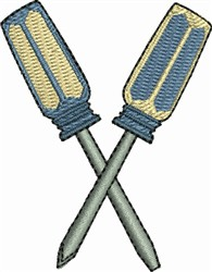 Screw Drivers embroidery design