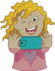 Selfie 4 embroidery design