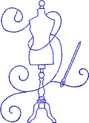 Sewing Form embroidery design
