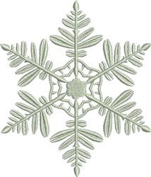 Beautiful Snowflake embroidery design