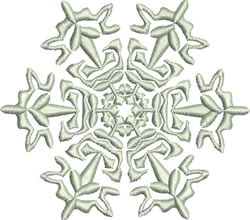 Beautiful Snowflake embroidery design
