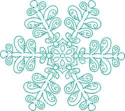 Snowflake Fantasy embroidery design