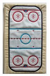 ITH Hockey Mug Mat embroidery design