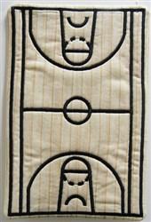 ITH Baskball Mug Mat embroidery design