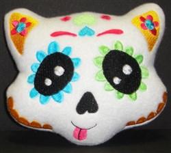 Sugar Skull Softie 5 embroidery design