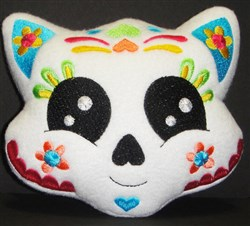 Sugar Skull Softie 6 embroidery design