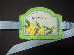 Stabilizer Label A embroidery design