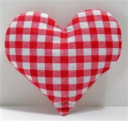 Stuffed Heart Sachet  embroidery design