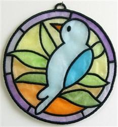 ITH Organza Suncatcher 1 embroidery design
