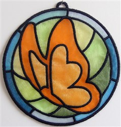 ITH Organza Suncatcher 3 embroidery design