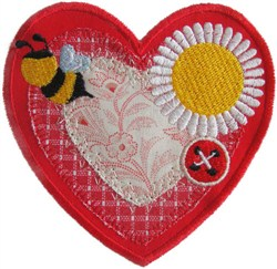 Sew Bee Applique embroidery design