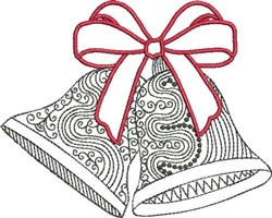 Tangle Bells embroidery design
