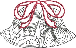 Ringing Bells embroidery design
