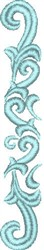 Graceful Scroll embroidery design