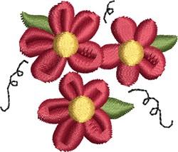 Watermelon Blossoms embroidery design