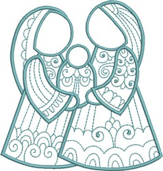 Christmas Child embroidery design