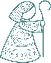 Christmas Joseph embroidery design