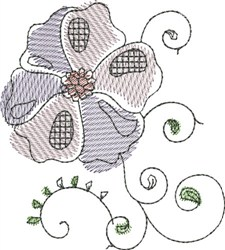 Floral Delight embroidery design