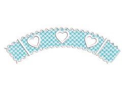 FSL Cupcake Wrapper embroidery design