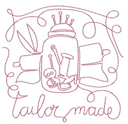 Tailor Made embroidery design