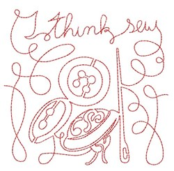 Think Sew embroidery design