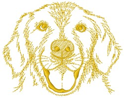 Labrador Retriever embroidery design