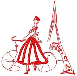 Parisian embroidery design