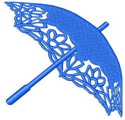 Parasol embroidery design