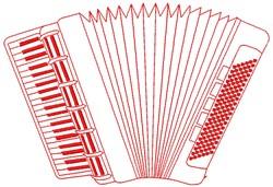 Accordion embroidery design